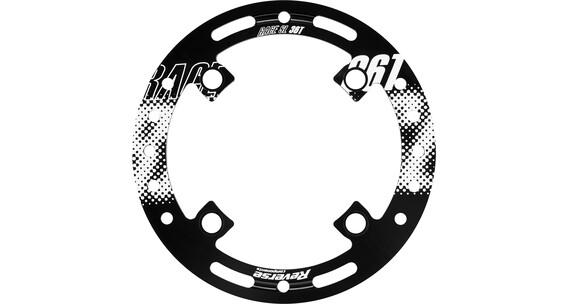 Reverse Race SL Kædeføring Bashguard 36T hvid/sort